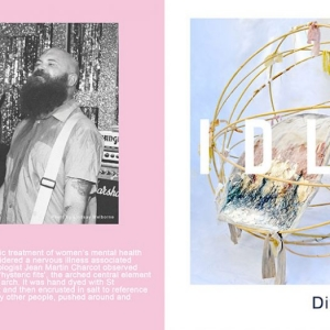 "Idles Divide and Conquer 7"" single Artwork"