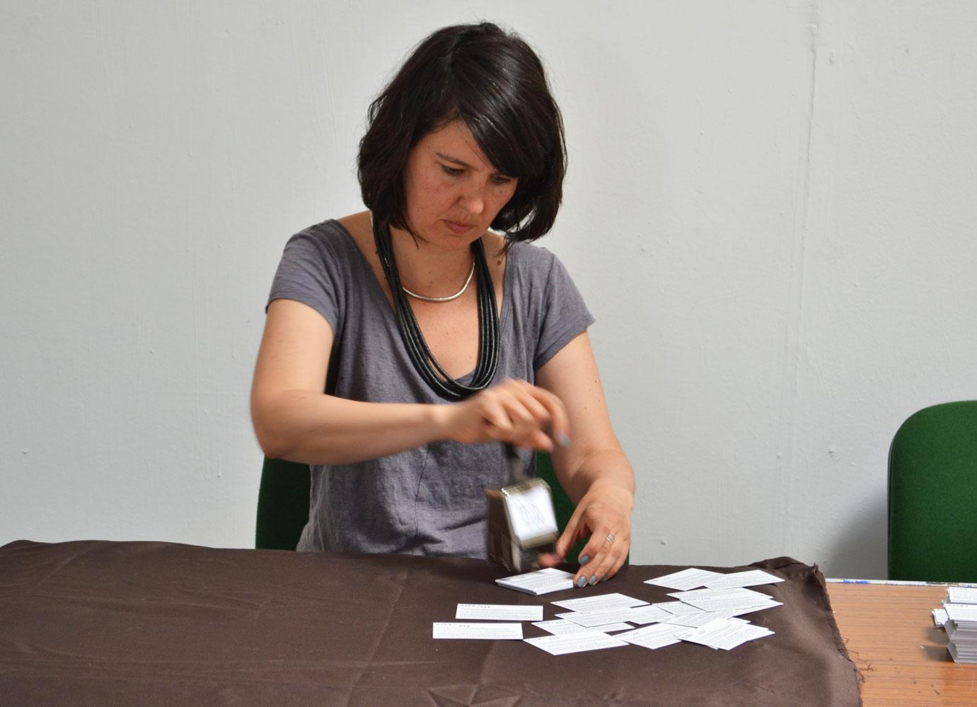 8372 Cards Memorial event at Magdalen Road Studios