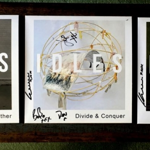 Signed Idles Limited Edition 7 inch Singles