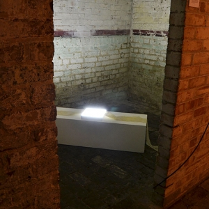 Momentary installed at The Crypt Gallery