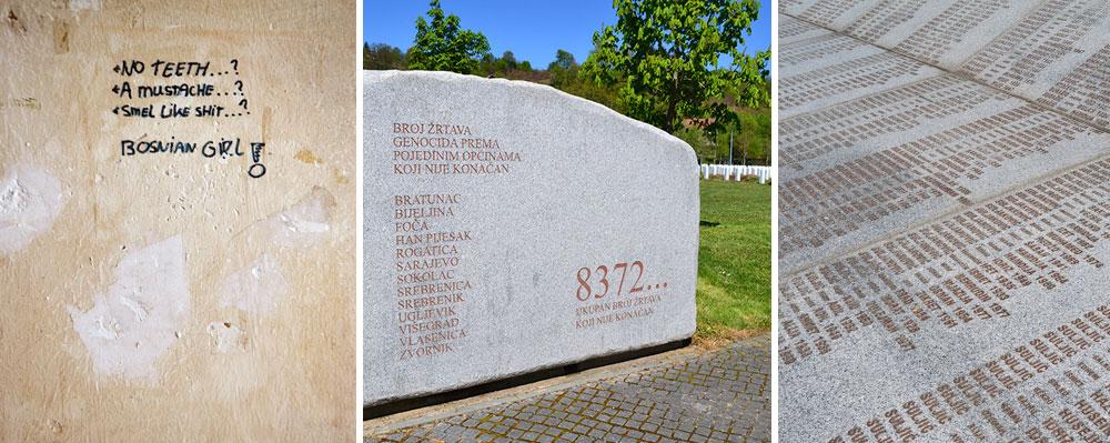 Day3 Potocari Memorial Srebrenica Bosnia
