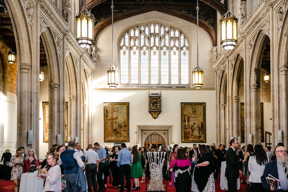 Lie Down installed in The Guildhall London for Srebrenica Memorial event 11 July 2018