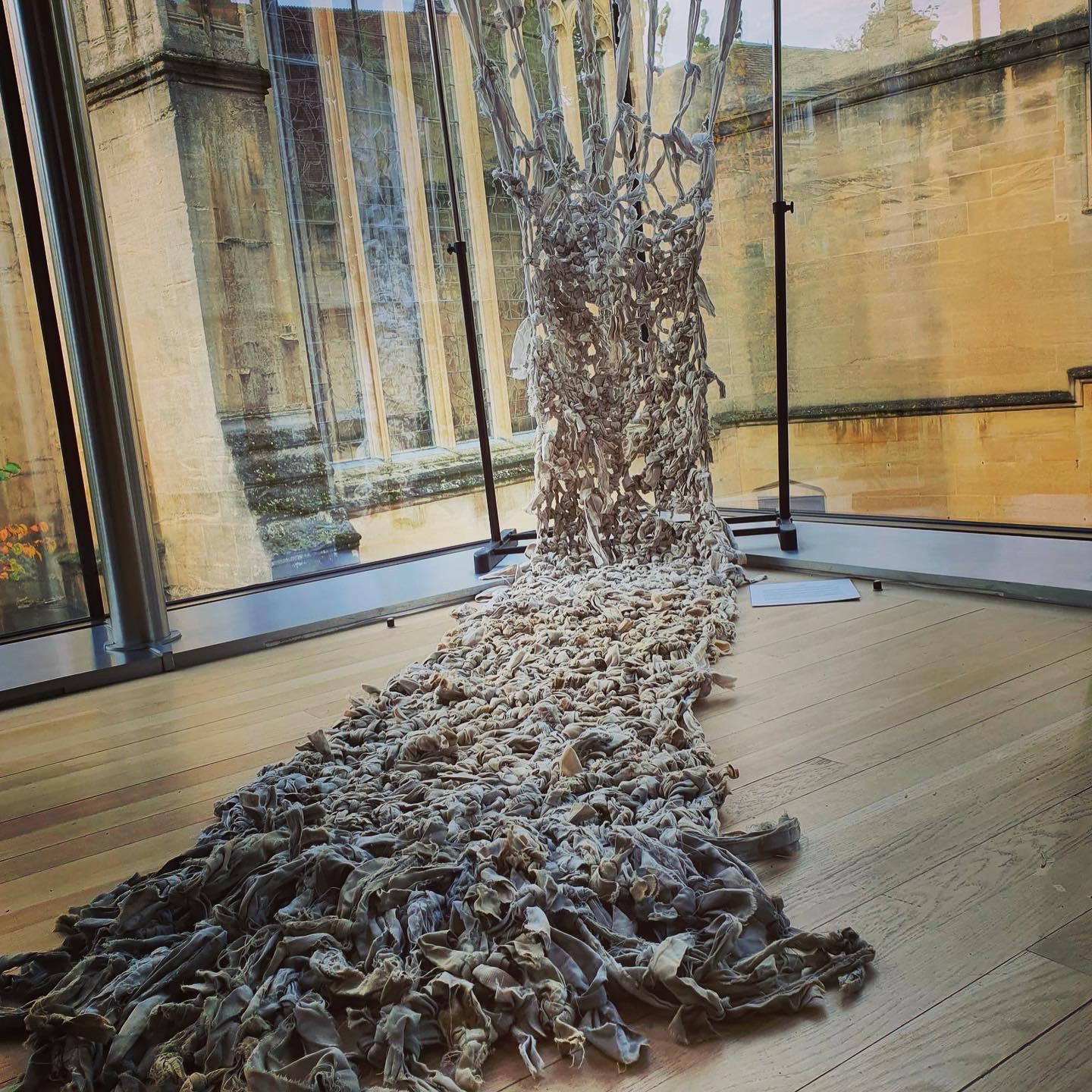 Lie Down installed at Lincoln College Oxford